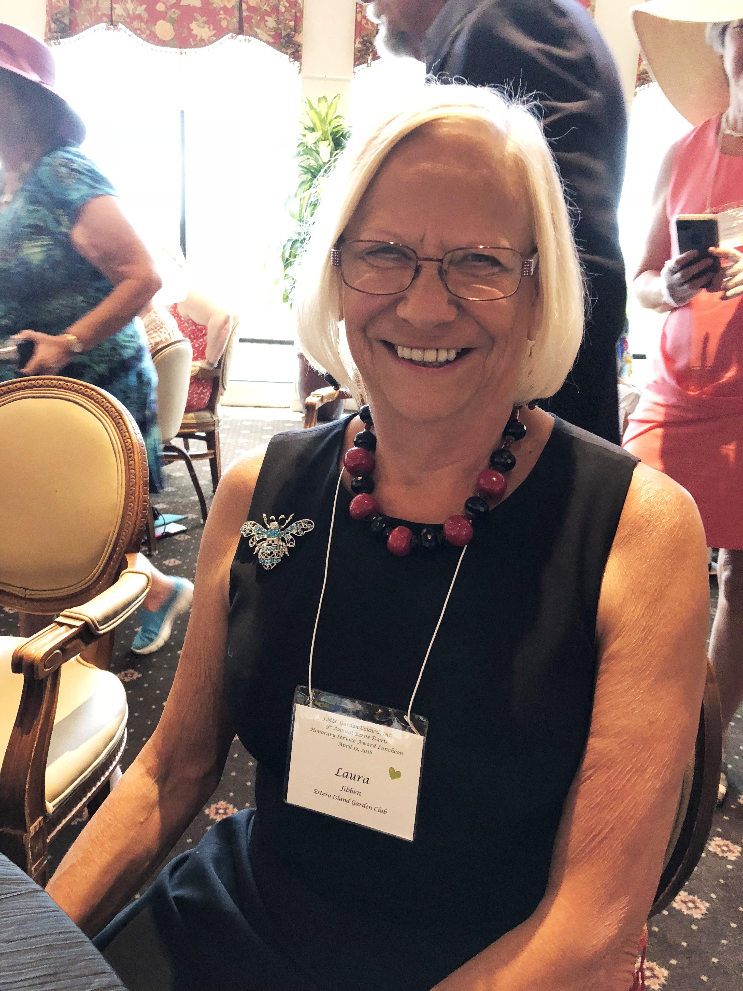 Laura Jibben Busy Bee Award 2018