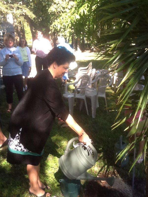 mitzi-watering