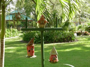Plant It Pink birdhouses