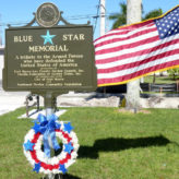 Blue-Star Marker Dedication