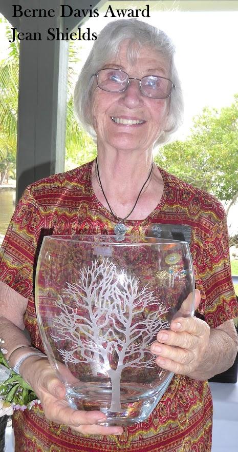 Jean Shields- Berne Davis Service Award Recipients