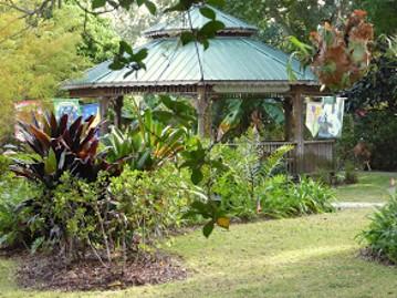 View of the Berne Davis Botanical Garden Jan 13, 2017