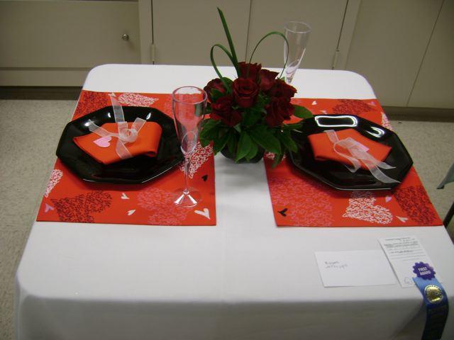 Betsy Eidem Romantic table